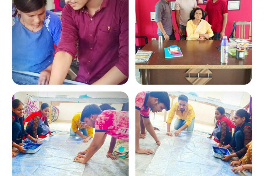 Aaft School Of Fashion And Design Student S Internship At Mws Mijwan Welfare Society